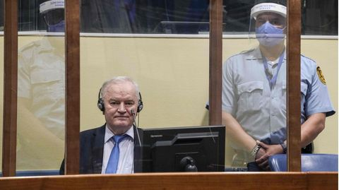 Der serbische Ex-General Ratko Mladic