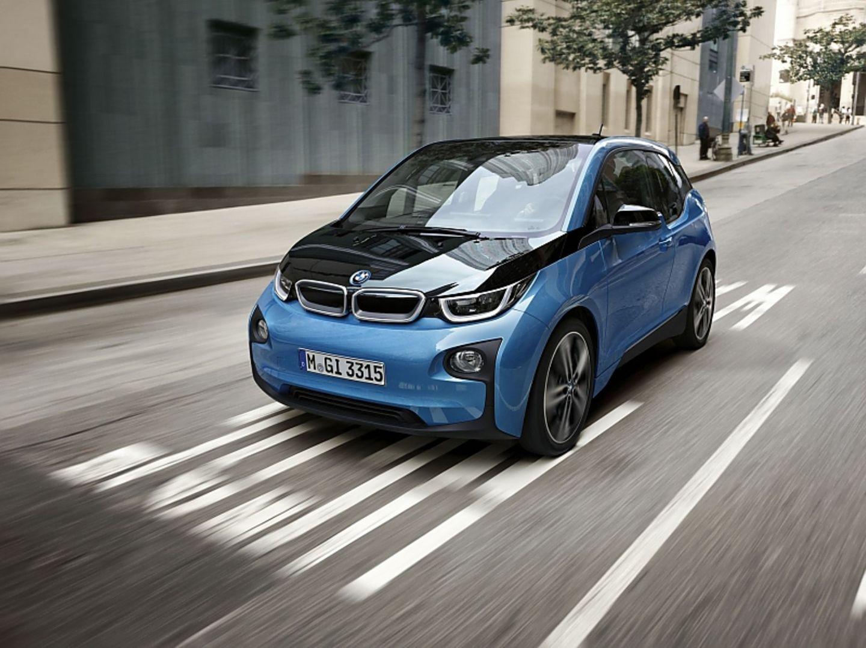 Umstrittenes Design: der BMW i3