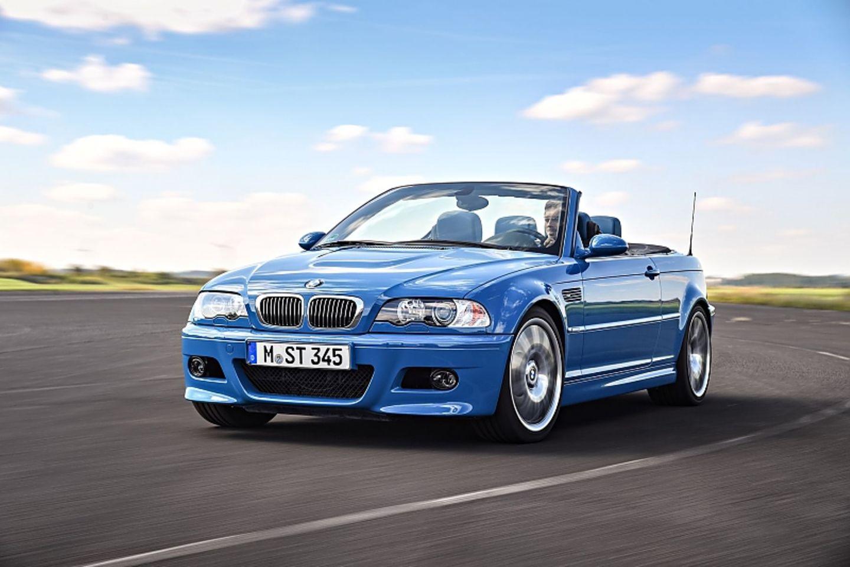 Der BMW 3er E46 hier als M3 Cabrio gilt als zukünftiger Klassiker