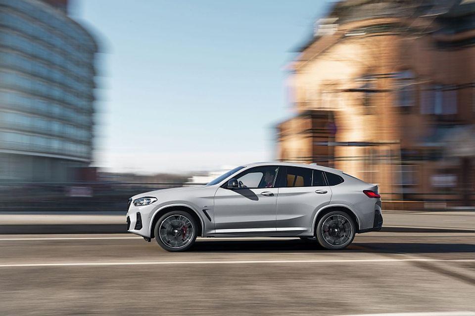 Der BMW X4 MJ 2022 erscheint im August