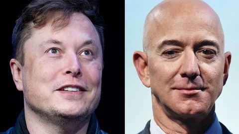 Drücken Jeff Bezos und Elon Musk sich vor der Einkommenssteuer?