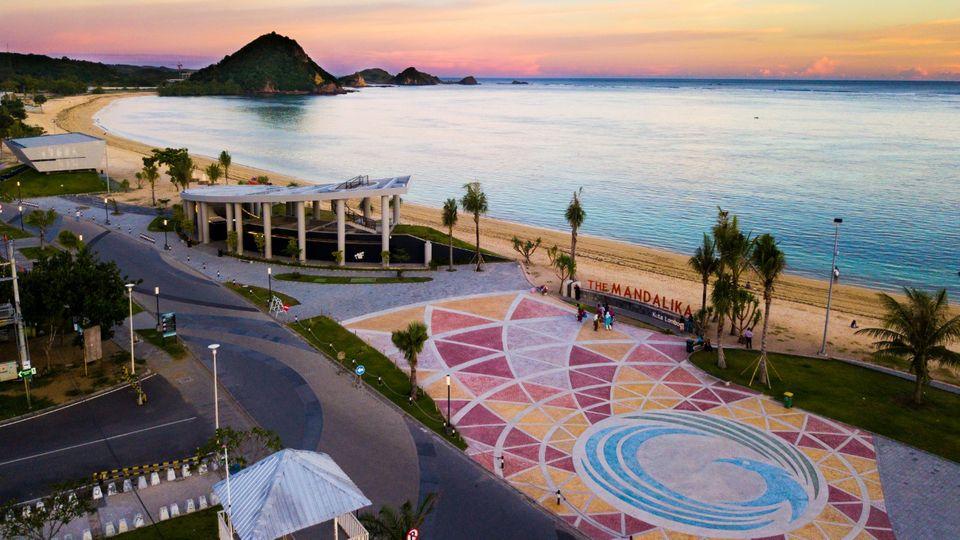 Als Vorbild für dasMandalika-Resort (Foto) und weitere Erschließungsprojekte dient Bali