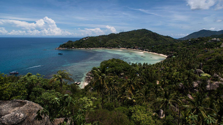 Die im Süden Thailands liegende Insel Koh Tao
