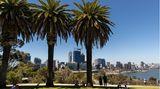 Platz 6mit93,3Punkten: Perth, Australien  Australiens Metropolen sichern sich bei fast allen Untersuchungen in Sachen Lebensqualität eine hohe Punktzahl.So auch Perth, die Großstadt im Westen Australiens.