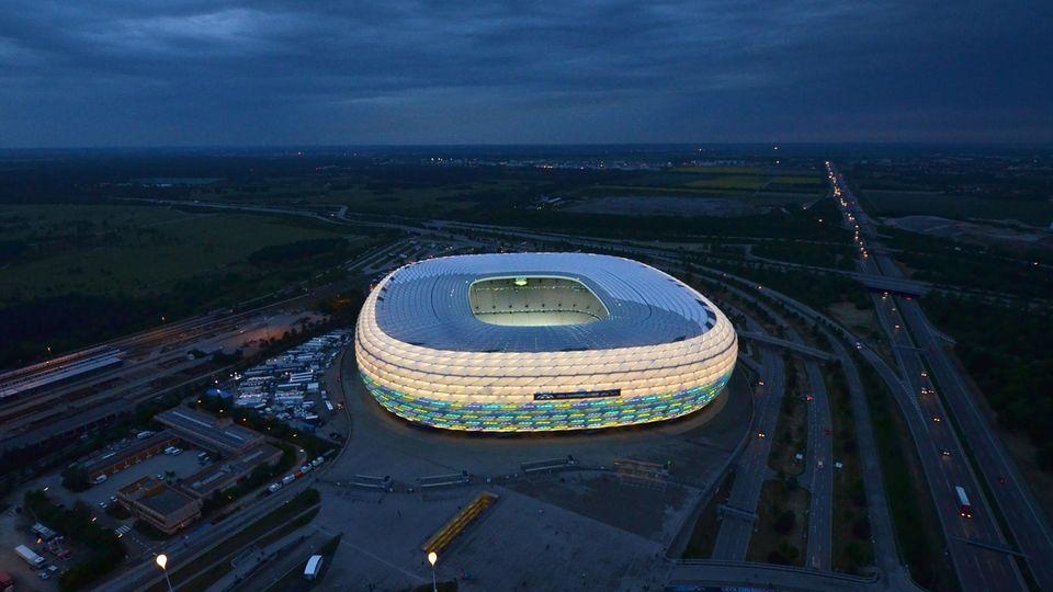 Stadion der Fußball-EM 2021: Alllianz-Arena in München