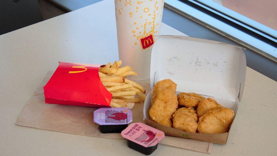 """Das """"BTS Meal"""" bei McDonald's"""