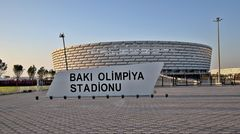 Stadion der Fußball-EM 2021: Olympia- bzw. Nationalstadion in Baku