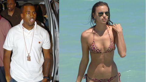 Kanye West und Irina Shayk