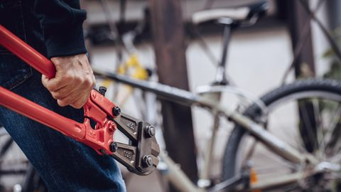 Ein Alarmanlage für das Fahrrad