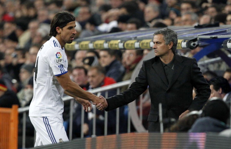 Real Madrid_Mourinho_Sami Khedira