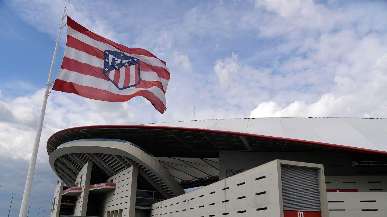 Wanda Metropolitano Atletico Madrid badge
