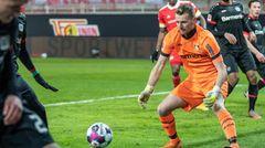 Lukas Hradecky aus Finnland (Bayer Leverkusen)
