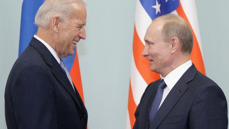 Joe Biden Wladimir Putin
