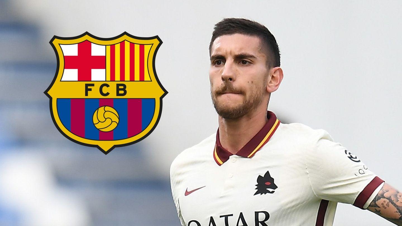 Lorenzo Pellegrini AS Roma Barcelona