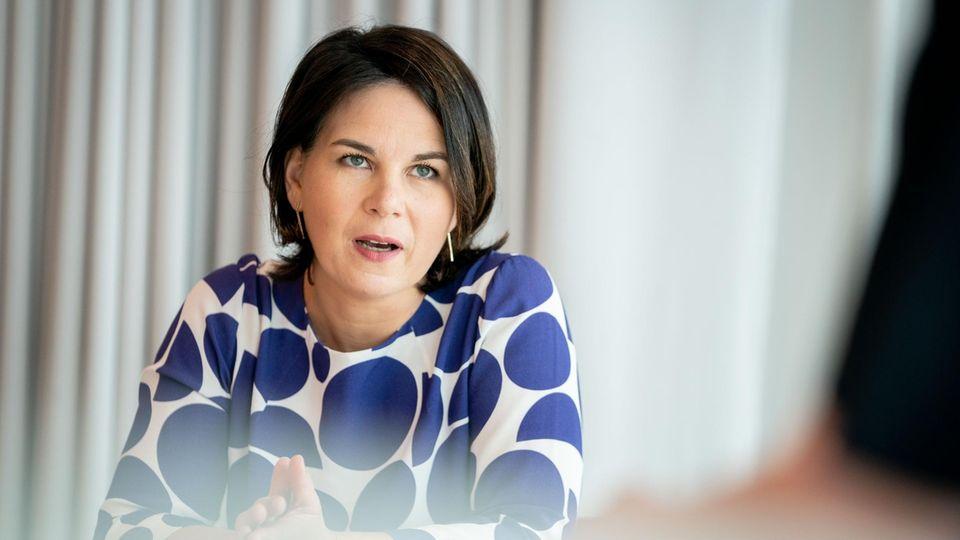 Annalena Baerbock, Kanzlerkandidatin und Bundesvorsitzende von Bündnis 90/Die Grünen