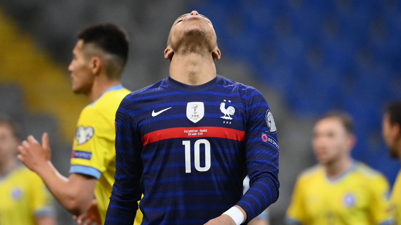 Kylian Mbappe Kazakhstan vs France 2022 World Cup qualifier