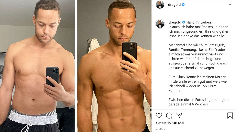 Vip News: Ex-Bachelor Andrej Mangold frustriert über Gewichtszunahme