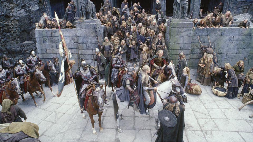 Festung Helms Klamm in Herr der Ringe.