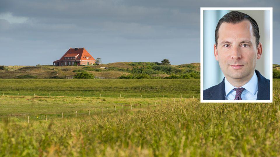 Christian von Gottberg leitet die Immobilienbüros von Engel & Völkers in Berlin und Schleswig Holstein