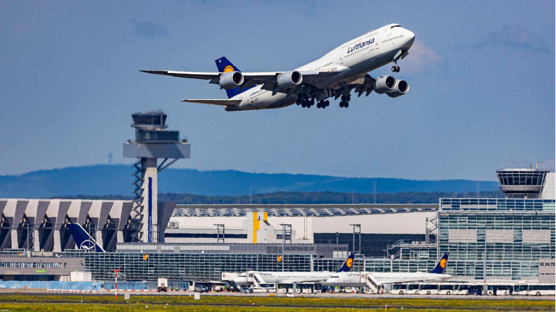 Boeing 747-8 der Lufthansa.