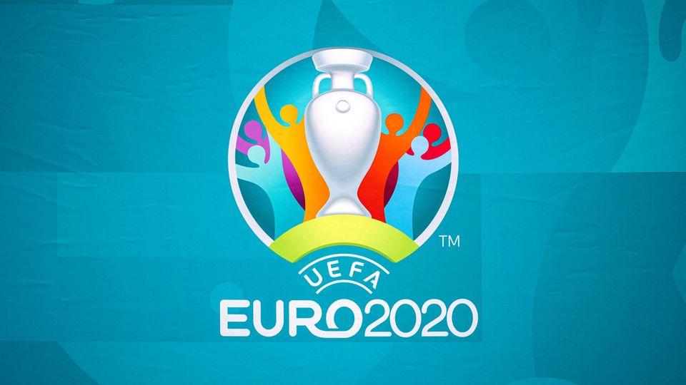 Das offizielle Logo der pandemiebedingt auf dieses Jahr verschobenen Europameisterschaft