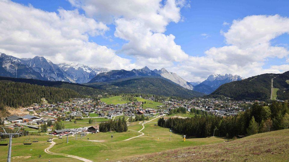 Blick auf Seefeld in Tirol