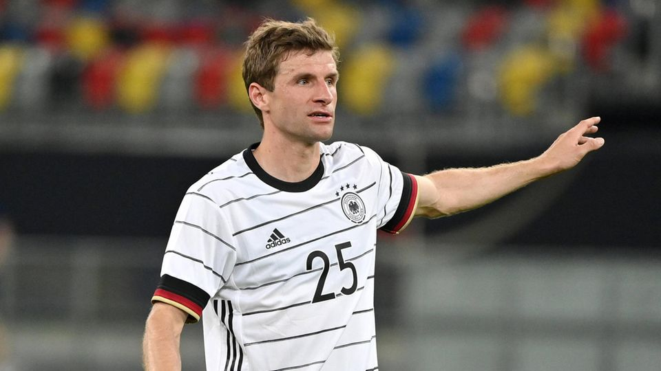 Thomas Müller im Einsatz: An die Fans richtete er einen feurigen Appell