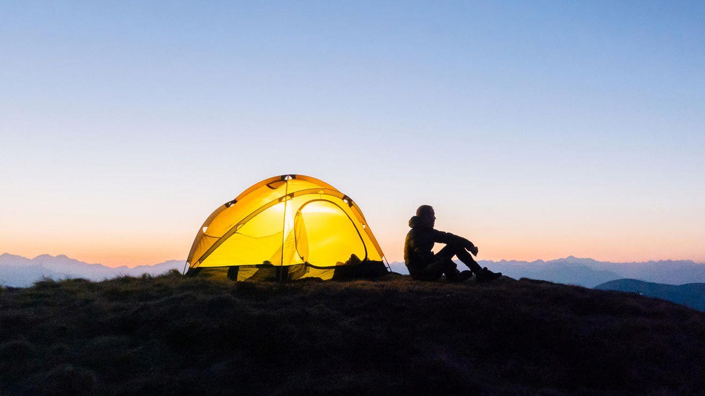 Einsamkeit in der Natur kann das Gehirn entspannen
