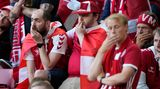 Die dänischen Fans sind geschockt