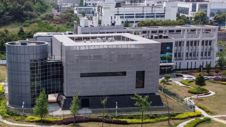 Labor des Virologie-Instituts im chinesischen Wuhan