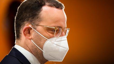 Bundesgesundheitsminister Jens Spahn befürwortet Ende der Maskenpflicht