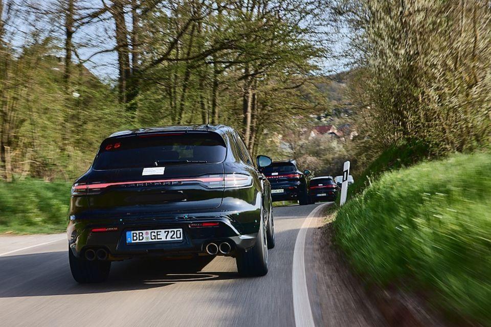Erprobung Porsche Macan 2022