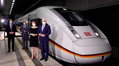 Die Deutsche Bahn setzt seit Sonntag den XXL-Ice ein.