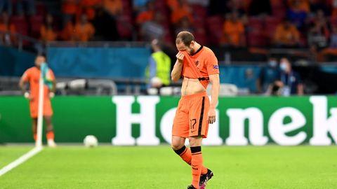 Oranje-Star Daley Blind übermannen bei seiner Auswechslung die Tränen