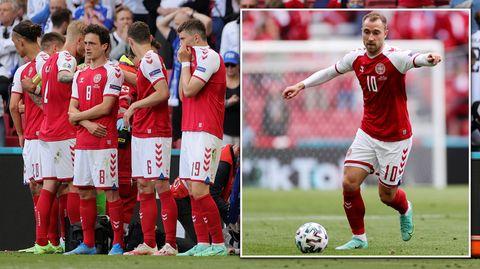 EM 2021: Christian Eriksen kollabiert – Fans sorgen für Gänsehaut-Moment