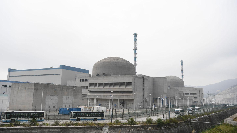 Das Atomkraftwerk Taishan in der ProvinzGuangdong im Süden Chinas