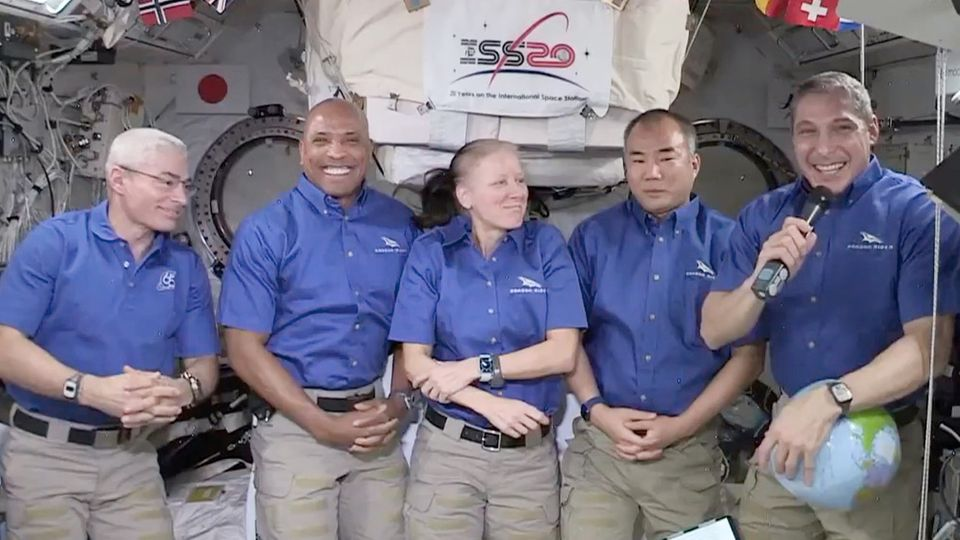 Angebliche Schwerkraft auf der ISS.