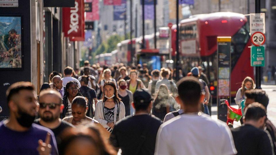 London UK: Symptome durch Delta-Variante