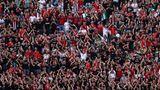 Voll besetzte Ränge im Budapester EM-Stadion, von Abstand und Masken ist nichts zu sehen