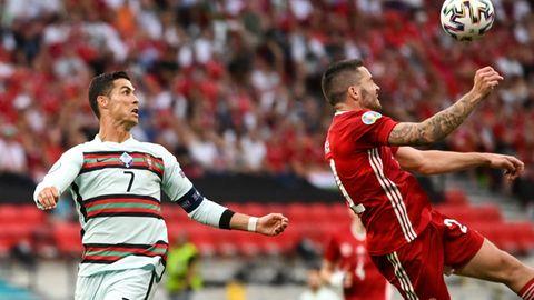 Ronaldo drehte wie die gesamte portugiesische Mannschaft gegen Ungarn erst spät auf, dann aber richtig