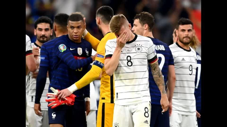 """""""Knabber""""-Attacke: Paul Pogba verteidigt Rüdiger nach Biss im Spiel: """"Das war nichts Großes"""""""