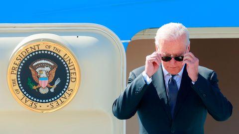 Joe Biden ist bereits in Genf zum Treffen mit Waldimir Putin eingetroffen