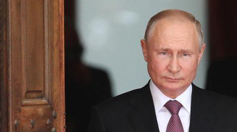 Genf: Wladimir Putin kommt zum Treffen mit Joe Biden an.