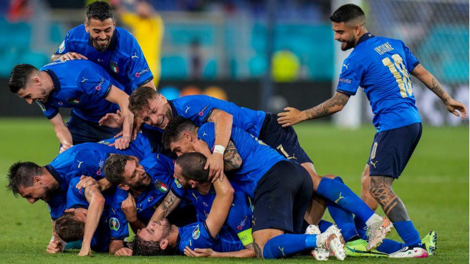 Die italienische Nationalmannschaft