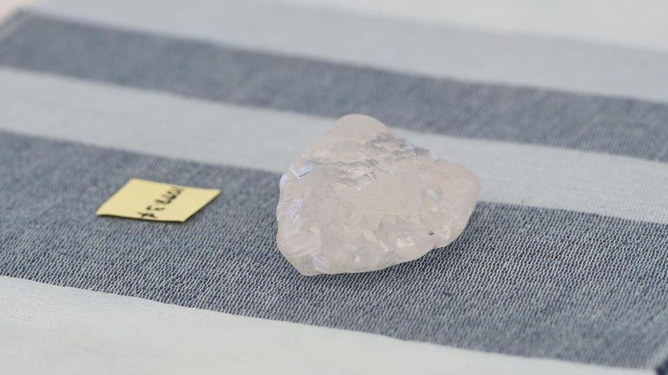 Der über 1000 Karat schwere Diamant aus Botsuana