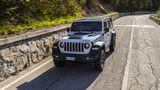 Der Jeep Wrangler 4xe ist bis zu 177 km/h schnell