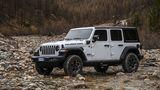 Der Jeep Wrangler 4xe ist 4,88 Meter lang