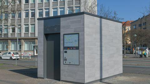 Neue Toilettenhäuser in Berlin