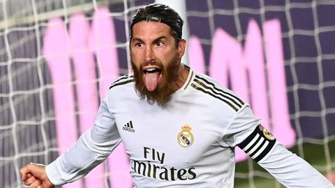 Sergio Ramos bei einem seiner letzten Einsätze für die Königlichen