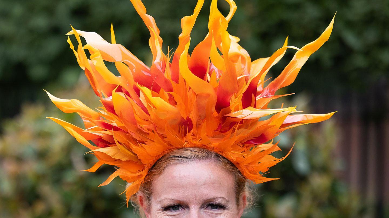 Am Ladies-Day zeigen die Damen in Ascot, was sie auf dem Kopf tragen. Es ist eine Art inoffizieller Wettbewerb.
